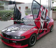 Mitsubishi Lancer EVO VI Vertical Lambo Doors Bolt On - Jan 99 - Mar 01