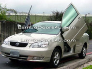 Toyota Corolla Vertical Lambo Doors Bolt On 98 99 00 01 02