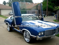 Oldsmobile Delta Vertical Lambo Doors Bolt On 65 66 67 68