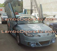 Ford Escort ZX2 Vertical Lambo Doors Bolt On 98 99 00 01 02 03