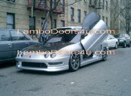 Acura EL Vertical Lambo Doors Bolt On 96 97 98 99 00