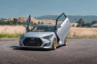 Hyundai Veloster Vertical Lambo Doors Bolt On