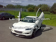 Mazda RX8 Vertical Lambo Doors Bolt On 09 up