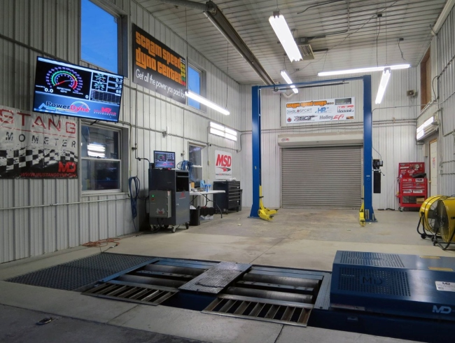 Scram Speed Dyno Center