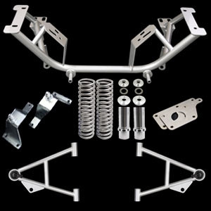 96-04 Chrome Moly K-Member Kit LS1 Adapter Plate/4.6 Solid Mount