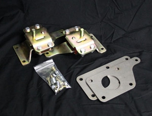 LS1/4.6 Adapter Plate w/4.6 Urethane Mounts