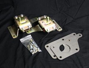LS1/4.6 Adapter Plate w/4.6 Urethane Mounts