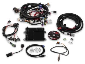 Holley HP EFI Plug and Play ECU and Harness kit for GM LS2/LS3/LS7 -NTK O2 sensor
