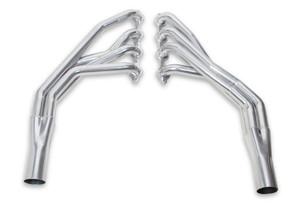 55-57 Chevy LS Swap Header -Stock Steering Ceramic Coated