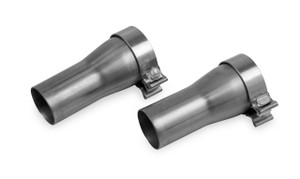 """Hooker Collector Adapter Pipes 3"""" - 2.4"""""""