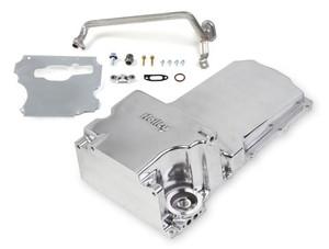 GM LS RETRO-FIT OIL PAN - POLISHED - 1955-87 GM/MUSCLE CAR/CLASSIC CAR/TRUCKS