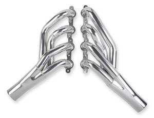 """HOOKER COMPETITION MID-LENGTH HEADER - CERAMIC COATED, 1-7/8"""", Collector Size 3"""", Port Shape: round"""