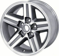 "16"" x 8"" Rear IROC-Z Style Aluminum Wheel 5 x 4-3/4"" Bolt Pattern Each"