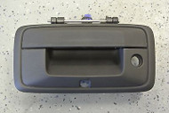 NEW 2014-15 Sierra 1500 Black Tailgate Handle Back Up Camera Hole GM 23448681