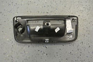 NEW 2007-13 GMC Sierra 1500 2500 3500 Tailgate Handle Bezel Keyhole GM 22755302