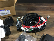 2011-14 Charger 7 Way Trailer Wiring Harness w/ 4 Way Adapter Mopar 82212521AE