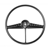 54-56 PICK-UP STEERING WHEEL; BLACK