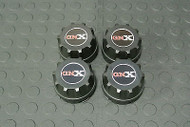 American Racing / Enkei 92 Wheel Rim Center Caps 89 8064 with GNX Logo Set (4)