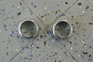 2002-06 MINI Cooper Dash Knob Chrome Plated Cover Set (2)