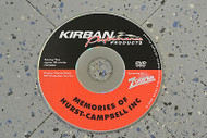 Kirban Performance Memories of Hurst Bill Campbell DVD 30 Mins Run Time