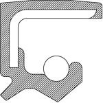National Oil Seals 224266 Rear Output Shaft Seal