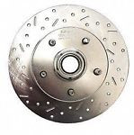 Stainless Steel Brakes 23005AA3L Front Disc Brake Rotor