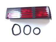 1983-93 Ford Mustang  6 Piece Rear Lamp Tail Light Housing Seal Kit - Molded