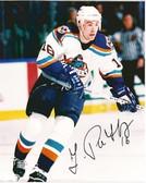 Ziggy Palffy New York Islanders Signed 8x10 Photo