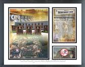 Yankees Monument Park - Retired Yankees Uniform Numbers - Milestones & Memories Framed Photo