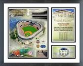 Yankee Stadium Final Season 2008 Memories and Milestones Framed Photo