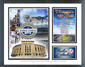 Yankee Stadium 2009 Inaugural Game Milestones & Memories Framed Photo