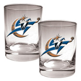 Washington Wizards Rocks Glass Set