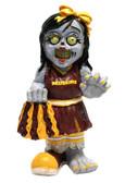 Washington Redskins Zombie Cheerleader Figurine
