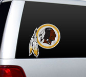 "Washington Redskins Die-Cut 12""x12"" Window Film"