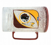 Washington Redskins Crystal Freezer Mug - Monster Size