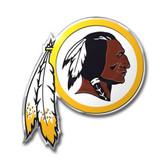 Washington Redskins Color Auto Emblem - Die Cut