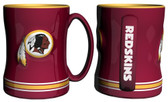 Washington Redskins Coffee Mug - 15oz Sculpted