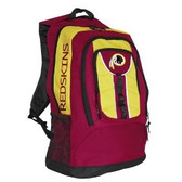 Washington Redskins Back Pack - Red Colossus Style