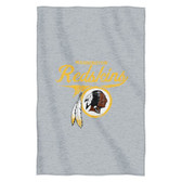 "Washington Redskins 54""x84""Sweatshirt Blanket - Script Design"