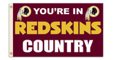 Washington Redskins 3 Ft. X 5 Ft. Flag w/Grommets 94107B