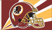 Washington Redskins 3 Ft. x 5 Ft. Flag w/Grommets