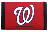 Washington Nationals Nylon Trifold Wallet