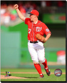 Washington Nationals Jordan Zimmermann No Hitter 16x20 Stretched Canvas AARG146-248