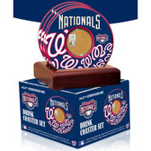 Washington Nationals 2010 Game Used Dirt Coasters