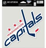 "Washington Capitals Die-Cut Decal - 8""x8"" Color"