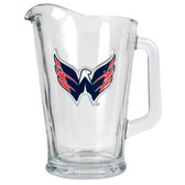 Washington Capitals 60oz Glass Pitcher