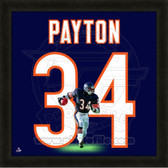 Walter Payton Chicago Bears 20x20 Framed Uniframe Jersey Photo
