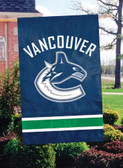 Vancouver Canucks 2 Sided Banner Flag