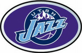 Utah Jazz Color Auto Emblem