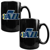 Utah Jazz Coffee Mug Set